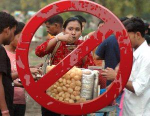 Avoid street food this mansoon