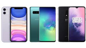 OnePlus 7T vs iPhone 11 vs Samsung Galaxy S10 Price in India, Specifications Compared 1
