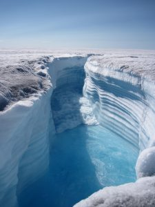 Global warming behind river ice cover loss