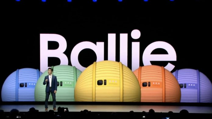An exclusive look at Samsung Ballie