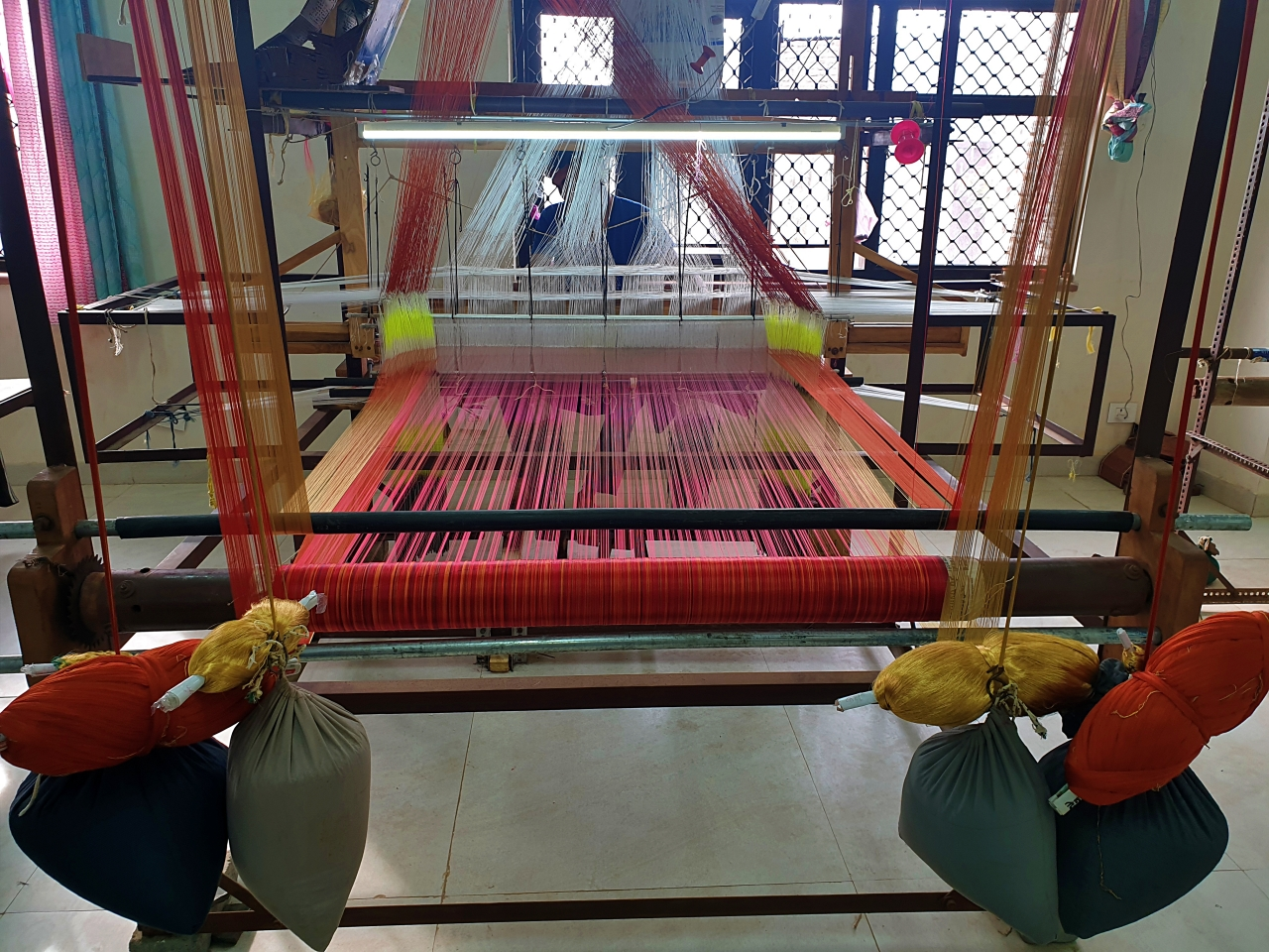 Chanderi - Weaver's Loom