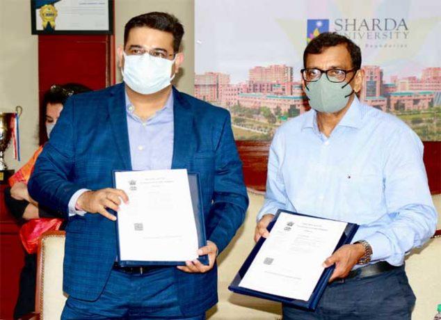 Sharda University join hands with MESC
